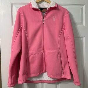 Spyder breast cancer awareness jacket xl